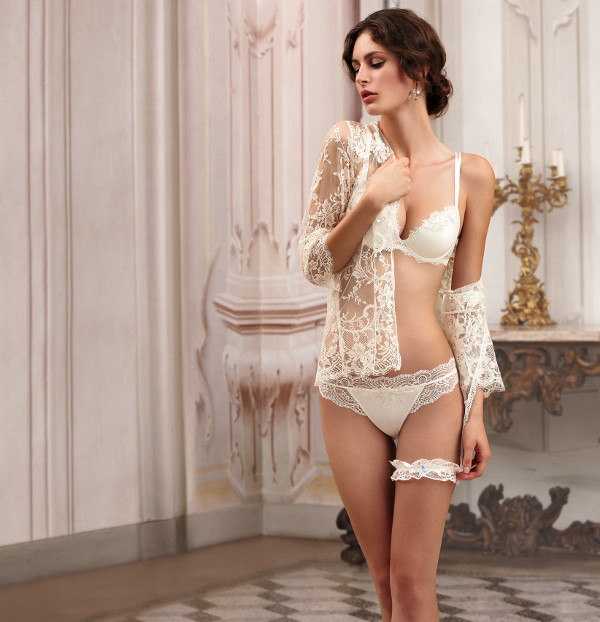 Lise Charmel Love Magicienne Dentelle Ivory String Thong Size M
